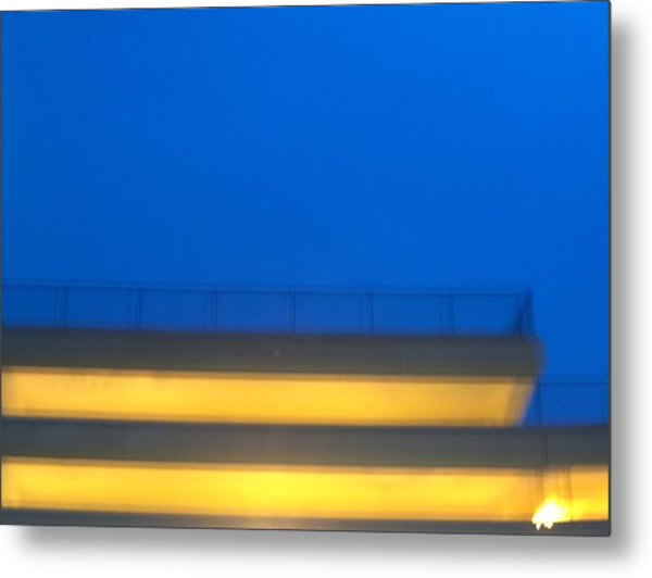 Structure Metal Print by Jacob Stempky