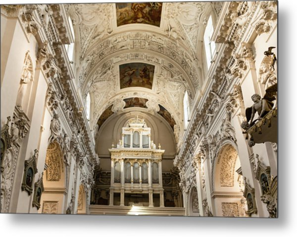 Sts Peter And Paul Church Interior Metal Print