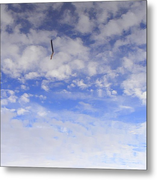 Stuck In The Clouds Metal Print