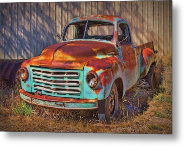 Studebaker - Pickup Truck Metal Print