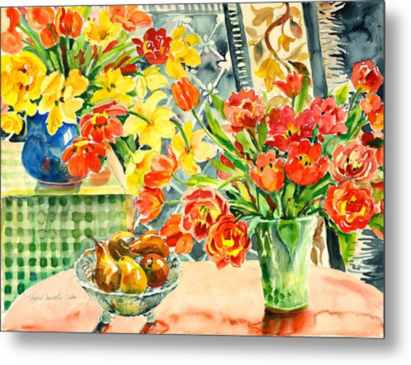 Studio Still Life Metal Print