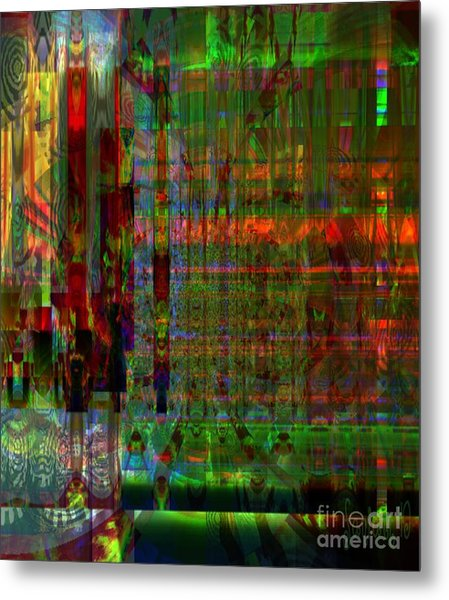 Study - Mental Condition Of The Artist Metal Print by Fania Simon