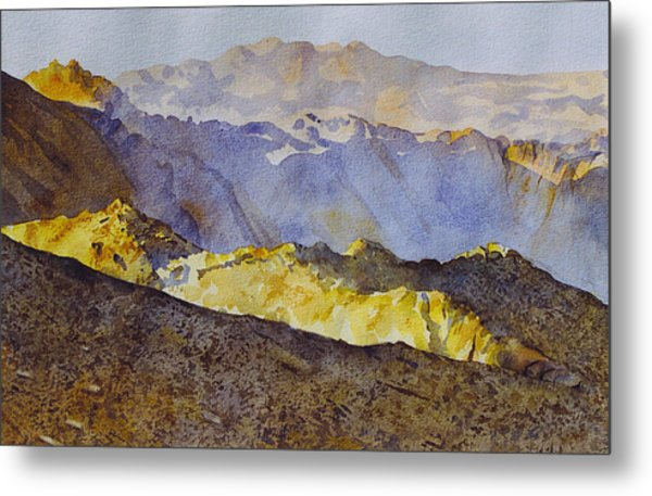 Study For Above Bighorn Metal Print