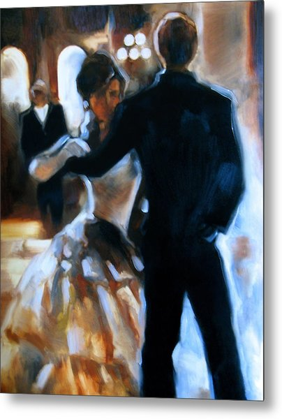 Study For Last Dance Metal Print by Stuart Gilbert