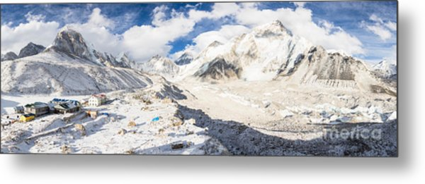 Stunning Nepal - Ebc Metal Print