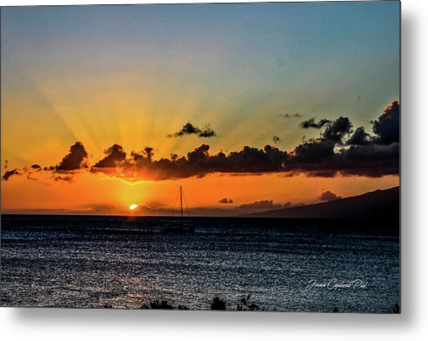 Stunning Sunset Metal Print