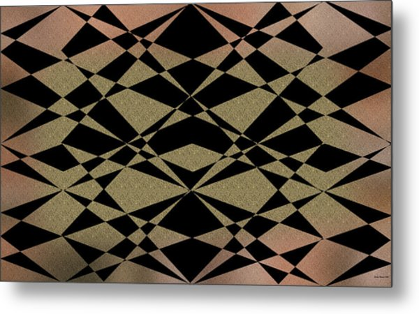Style1 Metal Print by Evelyn Patrick