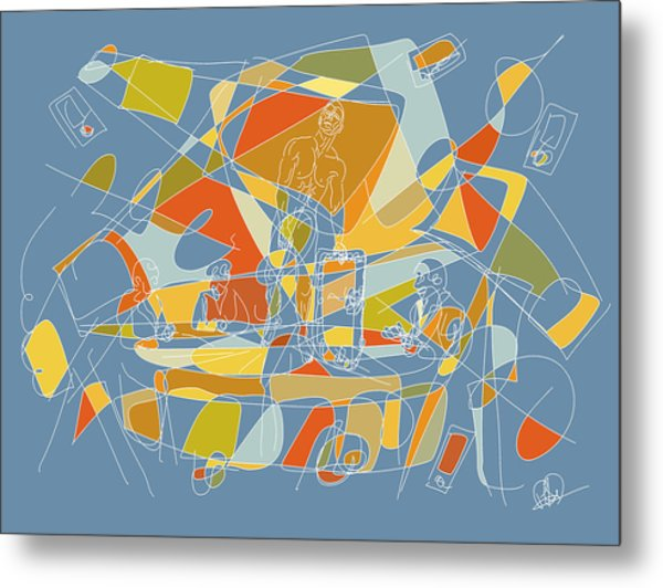 Subjection Of Privacy Metal Print by Hal Nymen