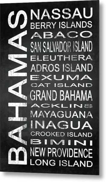 Subway Bahamas 1 Metal Print