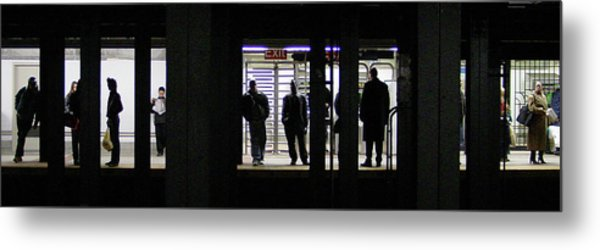 Subway Stories Metal Print