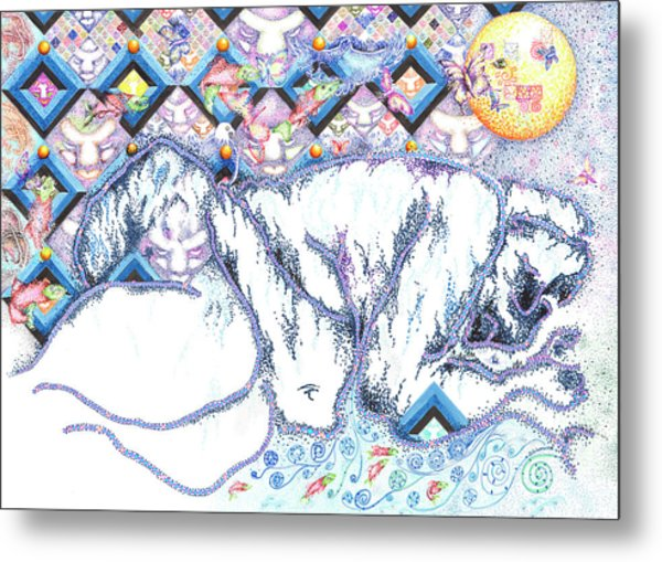 Suenos De Invierno Winter Dreams Metal Print