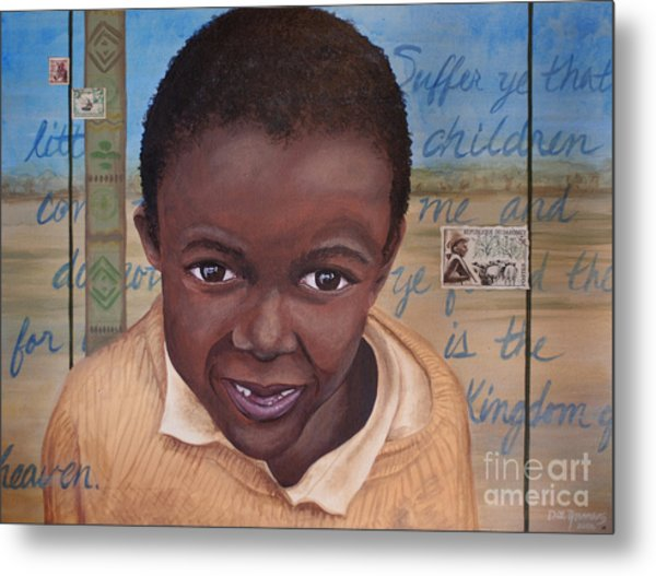 Suffer The Children Metal Print by Dee Youmans-Miller