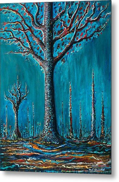 Sugar Tree Metal Print