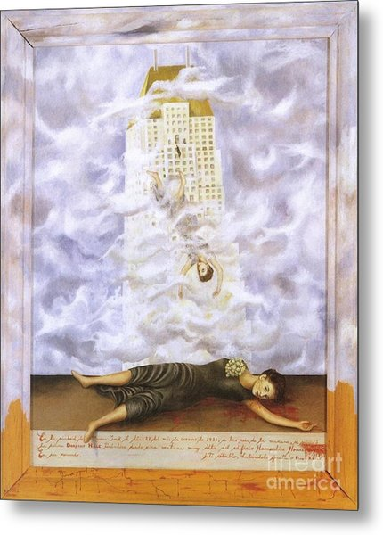 Suicide Of Dorothy Hale Metal Print