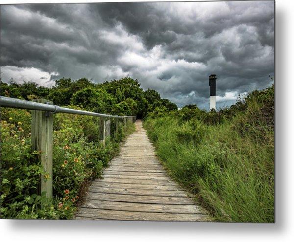 Sullivan's Island Summer Storm Clouds Metal Print