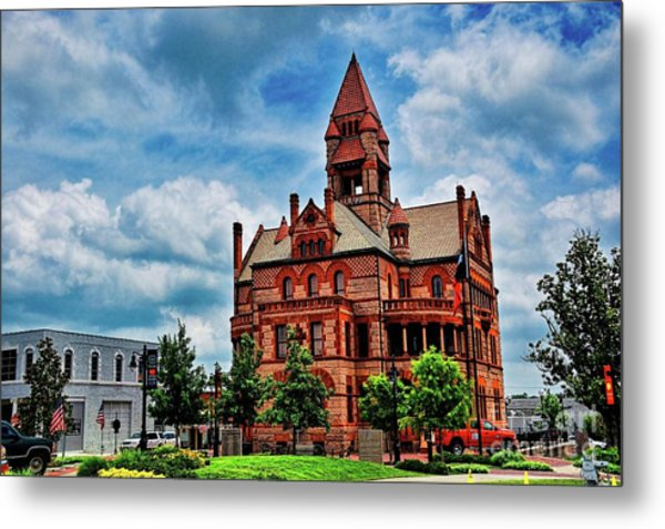Sulphur Springs Courthouse Metal Print