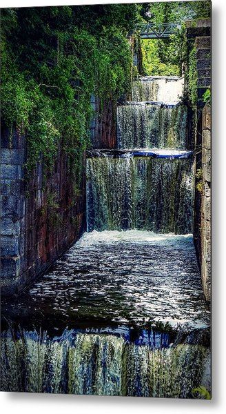 Summer At The Five Combines Metal Print