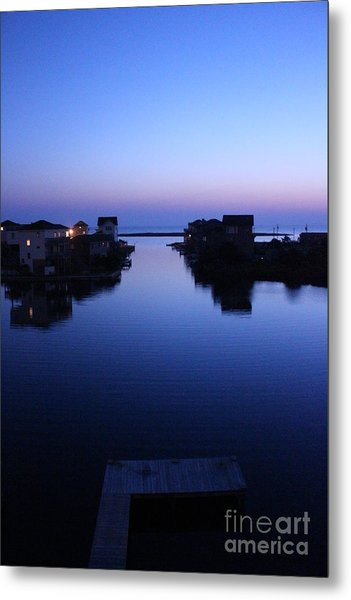 Summer Avon Evening Metal Print
