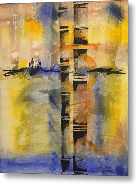 Summer Bamboo  Metal Print