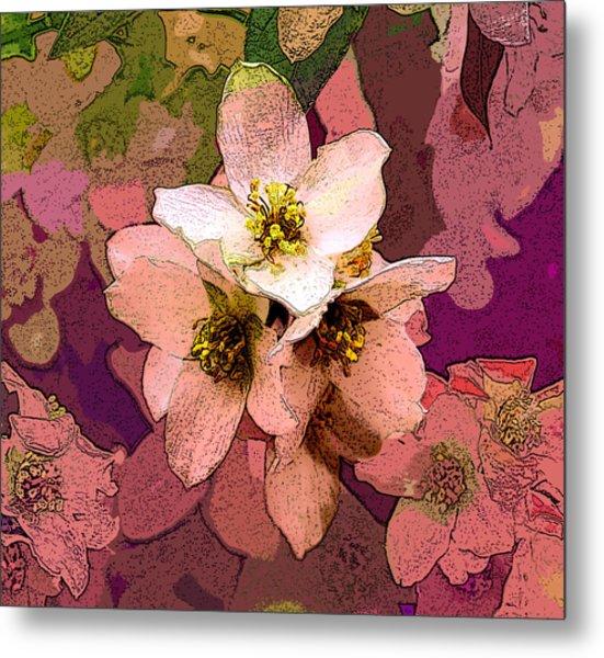 Summer Blossom Metal Print