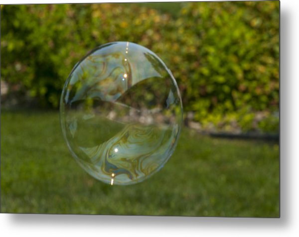 Summer Bubble Metal Print