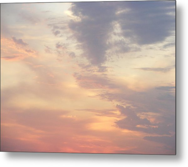 Summer Clouds Metal Print