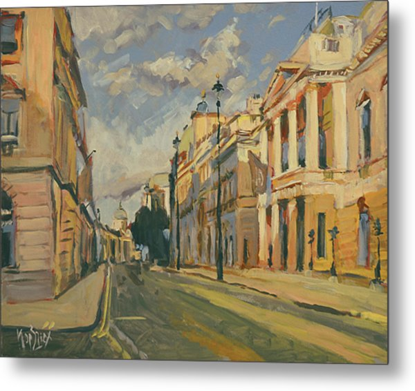 Summer Evening Pall Mall London Metal Print
