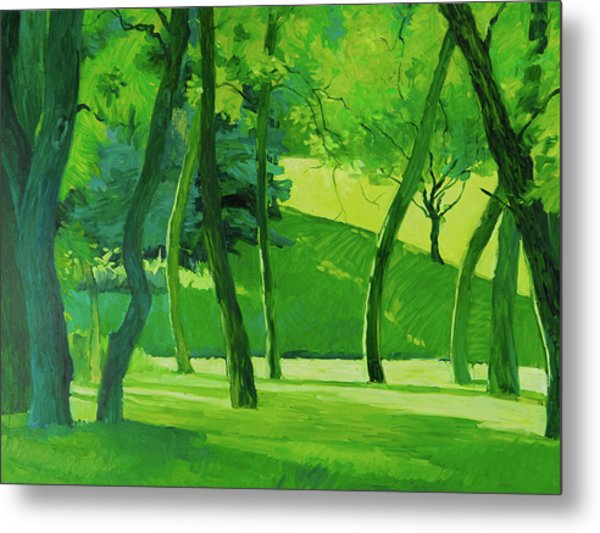 Summer Green Metal Print