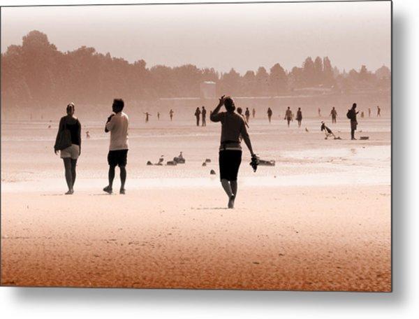 Summer Haze Metal Print by Barbara  White