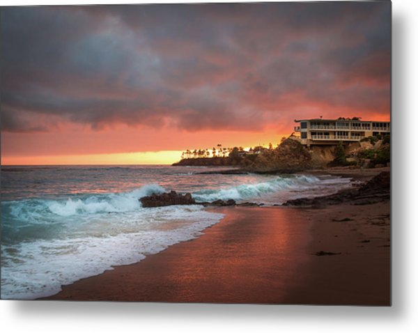 Summer Heat Laguna Beach Metal Print by Seascaping Photography