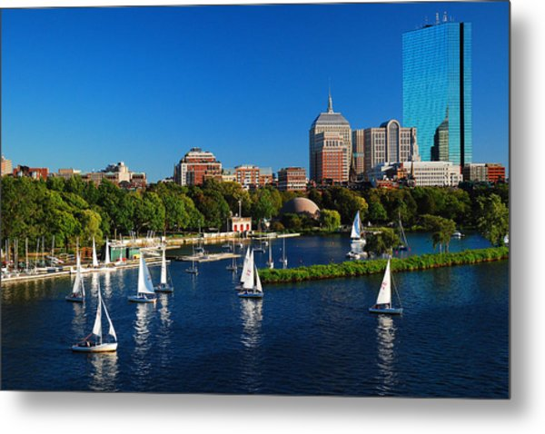 Summer In Boston Metal Print
