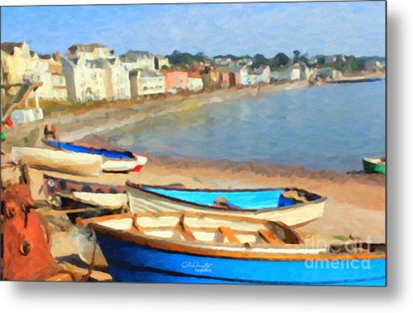 Summer In Dawlish Metal Print