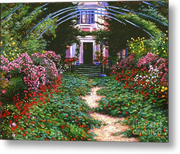 Summer In Giverny Metal Print