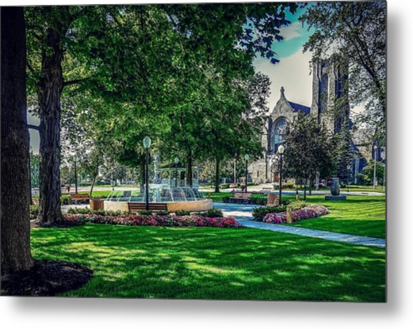 Summer In Juckett Park Metal Print
