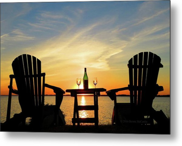 Summer In The River Metal Print