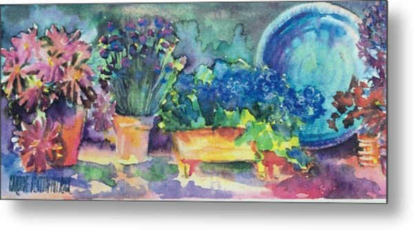 Summer On The Porch Metal Print