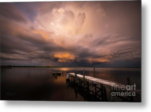 Summer Rains Metal Print