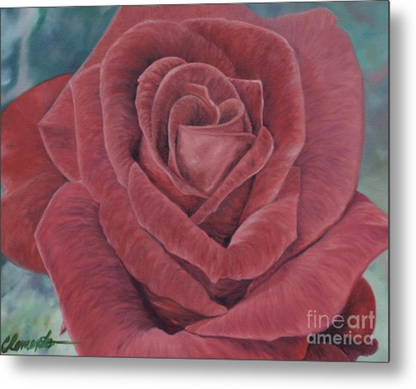 Summer Rose Metal Print