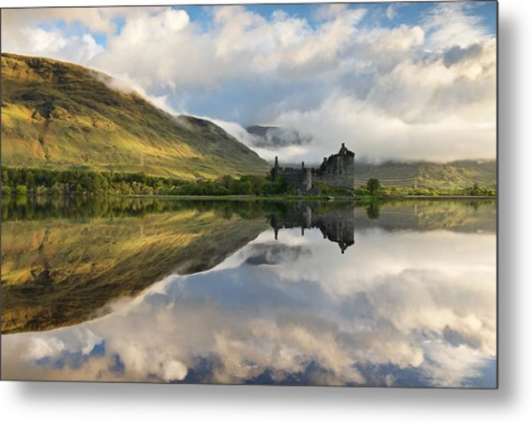 Summer Runrise At Loch Awe Metal Print