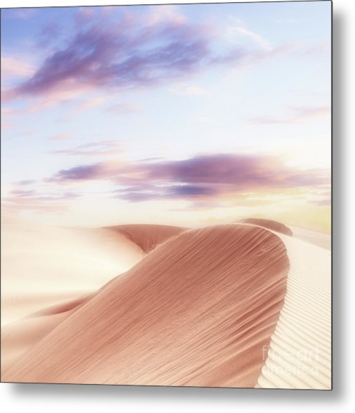 Summer Sands Metal Print