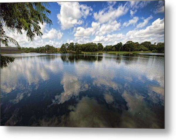 Summer Skies Metal Print