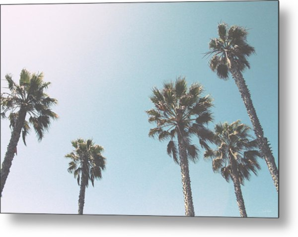 Summer Sky- By Linda Woods Metal Print