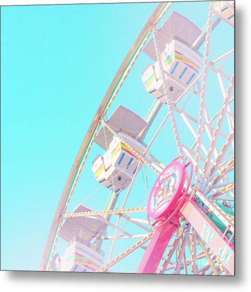 Metal Print featuring the photograph Summer Sky by Cindy Garber Iverson