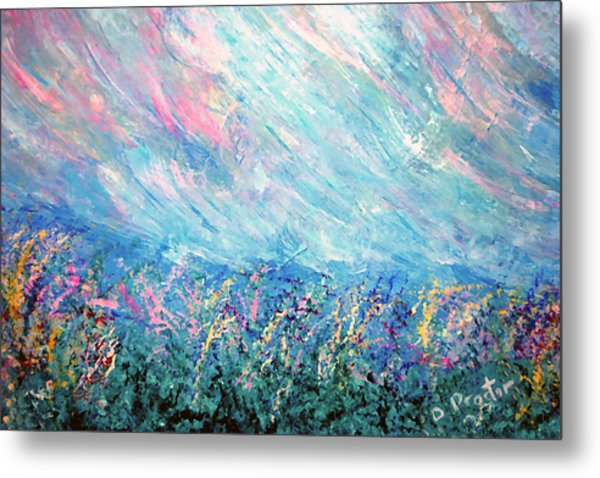 Summer Storm Metal Print by Donna Proctor