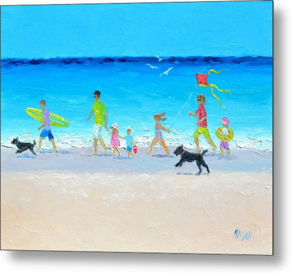 Summer Vacation Time Metal Print