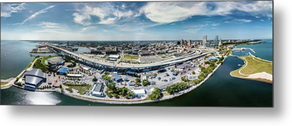 Summerfest Panorama Metal Print