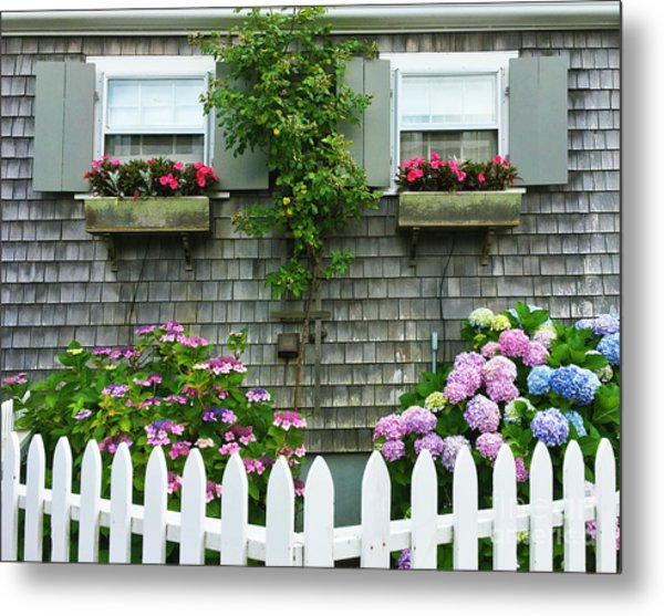 Summery Nantucket Metal Print