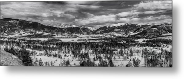 Summit County  Metal Print