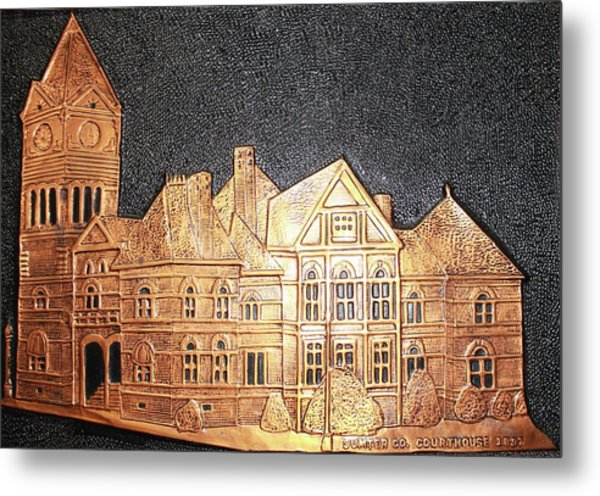 Sumter County Courthouse - 1897 Metal Print