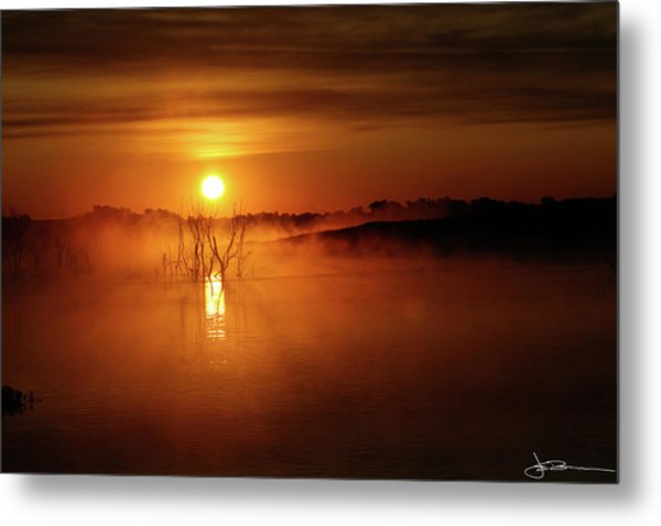 Sun Birth Metal Print